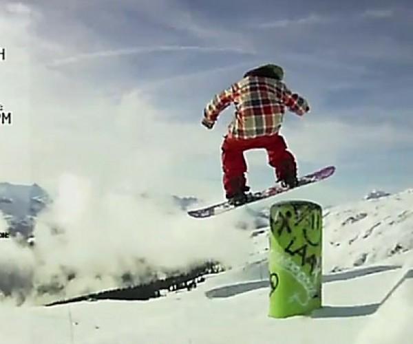 Nokia + Burton's Push Snowboarding Tracks Boarders' Stats in Gory Detail