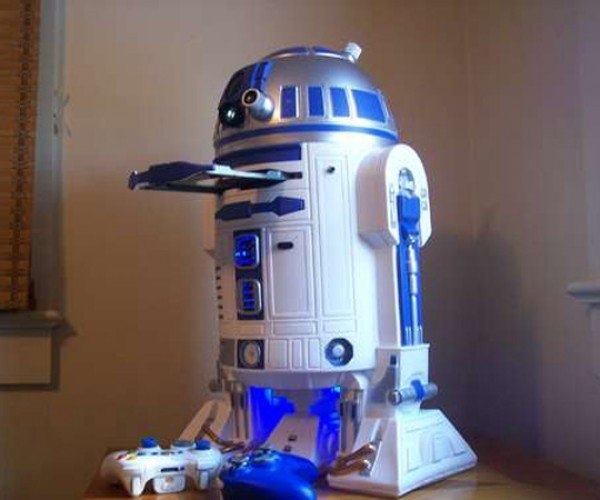 r2-d2 xbox 360 casemod by mark bongo 5