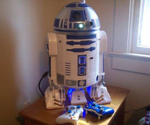 r2-d2 xbox 360 casemod by mark bongo
