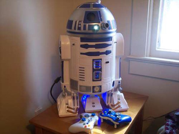 r2 d2 xbox 360 casemod by mark bongo