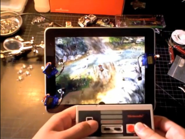 robotouch ipad nes controller hack by protodojo