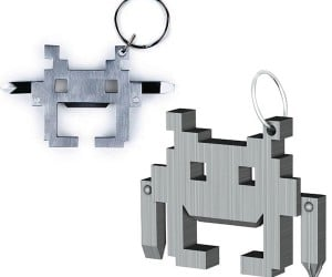 Space Intruder Multi-Tool Invades Your Keychain