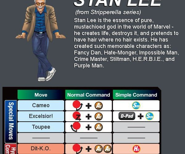 stan lee marvel vs capcom 3 by dorkly