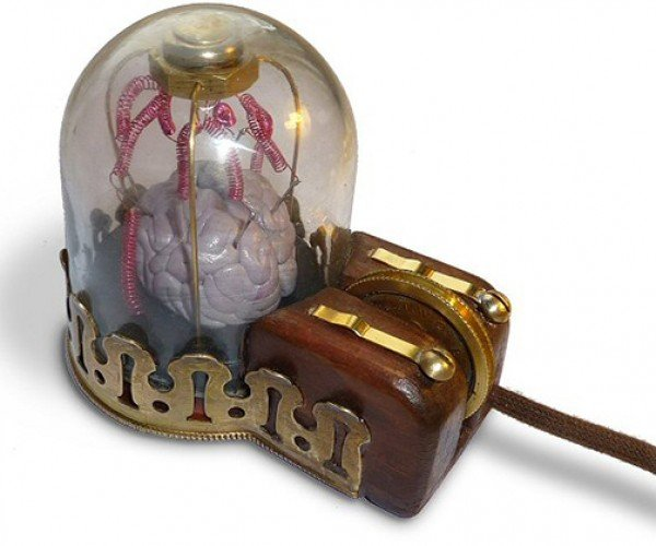 Steampunk Mouse: More Like Evil Mad Scientist Mouse