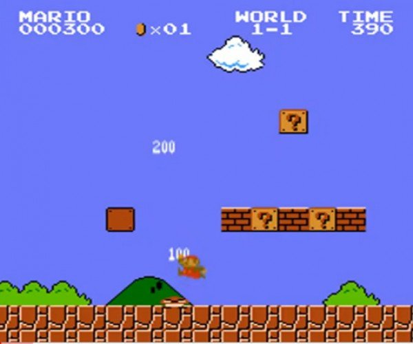 Super Mario Bros. With Modern Sound Effects: Aurally Brutal