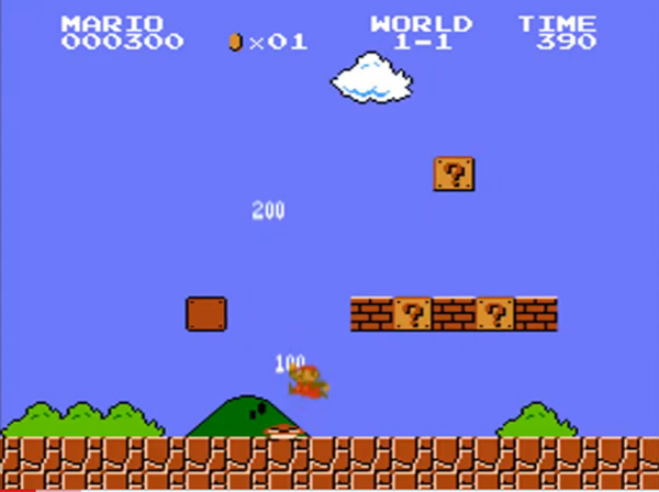 super mario bros with modern sounds
