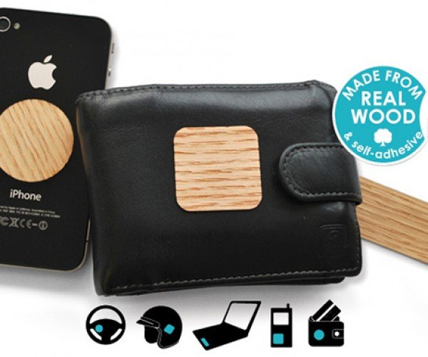 Wooden Stickers Indulge Your Superstitions
