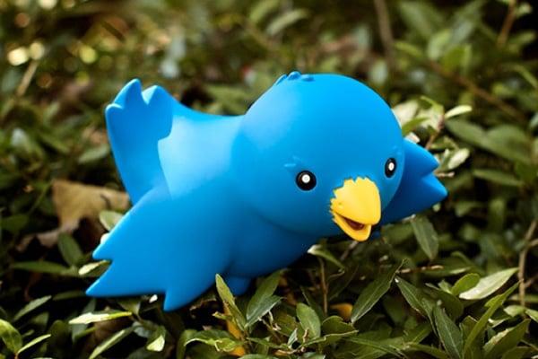 twitter mascot ollie vinyl toy