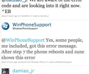 Fixed Samsung WinPho 7 Update Bug Not So Fixed After All?