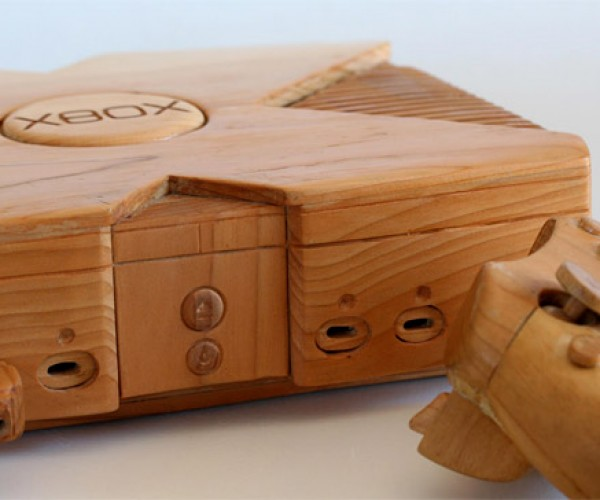 Wooden Xbox Console: Timber!