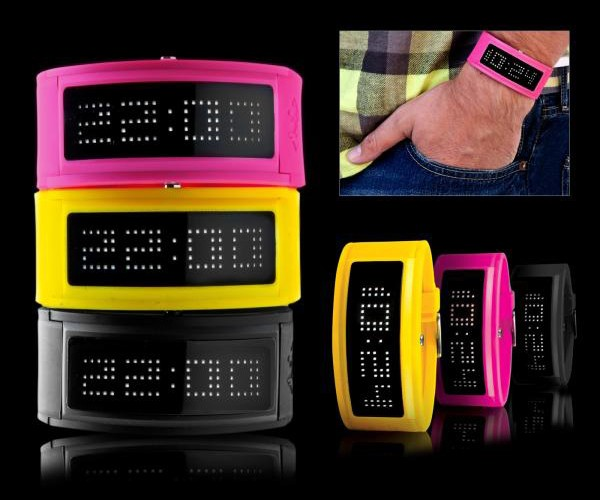 Black Dice LED Guru Watches Light Up Your Wrist