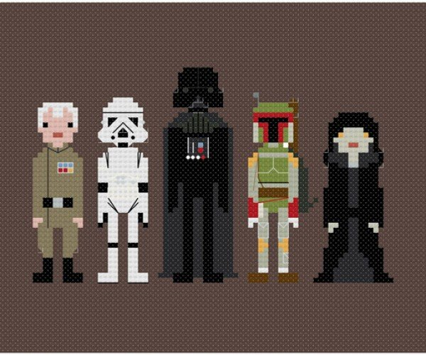 Cross-Stitched Characters: From Star Wars to The Justice League
