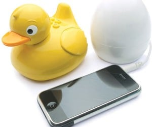 iDuck Bath Speaker: Rubber Duckie, You're the One