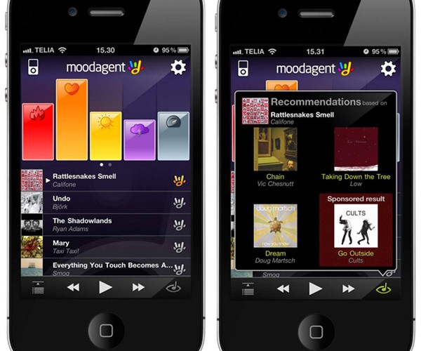 Moodagent 3.0: Music to Match Your Mood and Location
