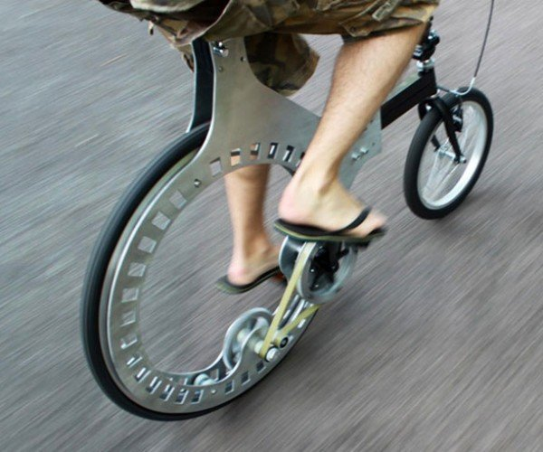 Lunartic Belt-Driven Hubless Bicycle: This is the Future of Cycling?