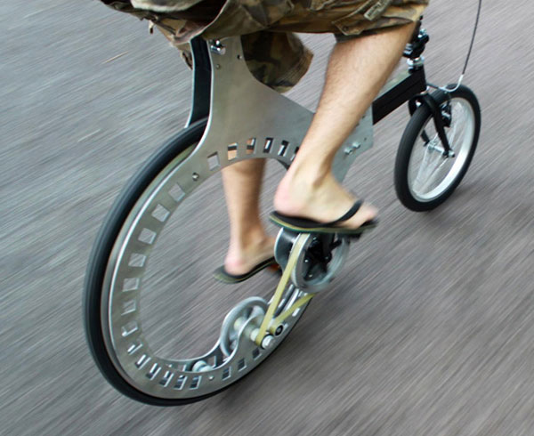 Lunartic Belt Driven Hubless Bicycle This Is The Future Of Cycling Technabob