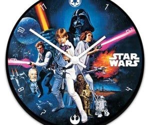Star Wars Wall Clock: The Time is 1977