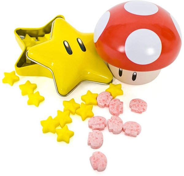 starman super mario bros candy retro