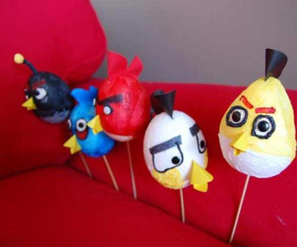 Which Came First: The Angry Bird or the Angry Easter Egg?