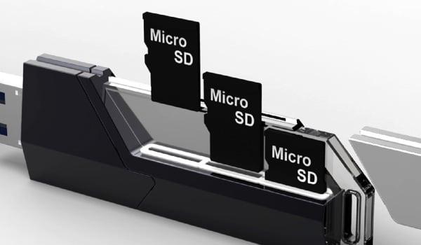 collector usb flash drive microsd raid concept