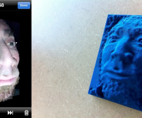 Trimensional iPhone App Scans Your Face in 3D, Then Lets You Print Your Ugly Mug