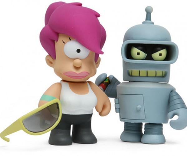 Futurama Mini Figurines: Bite-Size Tiny Metal Ass