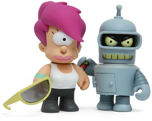 futurama mini figurines collectible thinkgeek blind box