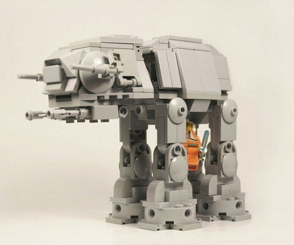 Adorable Lego AT-AT: He'll Still Work for the Empire When He Grows Up