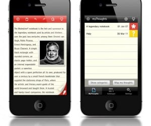 Moleskine Goes Paperless with iOS App