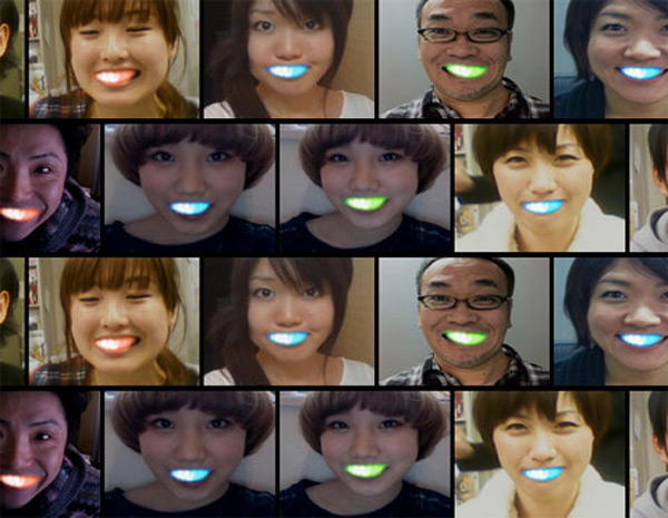 led braces japan teeth dentistry orthodontistry fashion