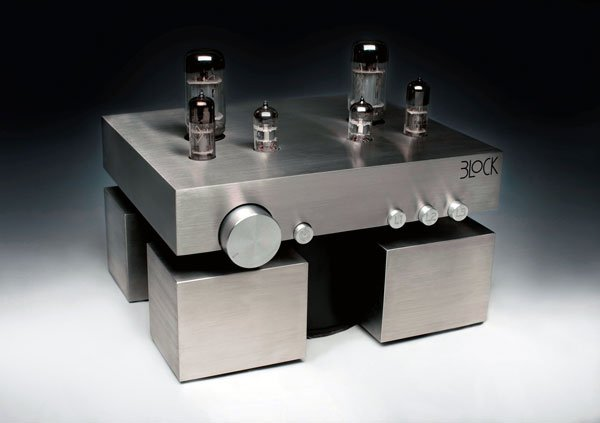 the block mateusz glowka vacuum tube amplifier stereo audio