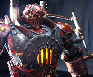 Toy Modder Gives Iron Man a Steampunk Make-Over