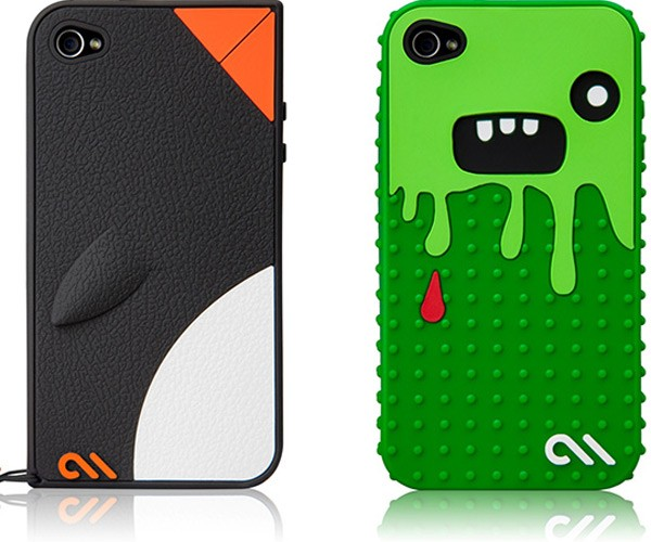 Monsta and Waddler iPhone 4 Cases Set You Strangely Apart