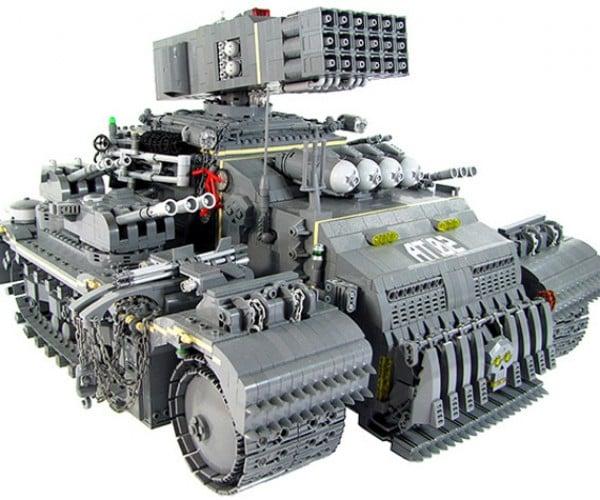 LEGO Tonka Heavy Assault Truck Ready to Crush Your Minifig Army