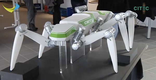 hector hexapod robot spiderbot bielefeld autonomous