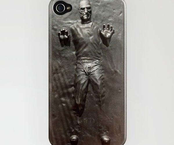 Steve Jobs Frozen in Carbonite iPhone Skin: Who Will Unfreeze Him?