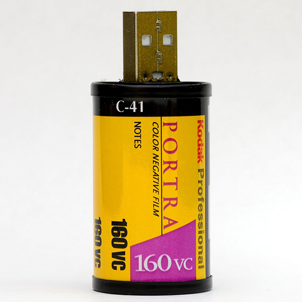 Store Digital Photos In These 35mm Flash Drives Technabob