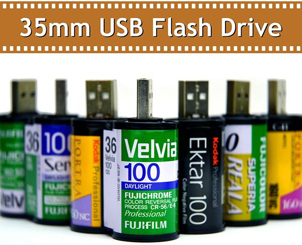 35mm usb flash drive by newfocus