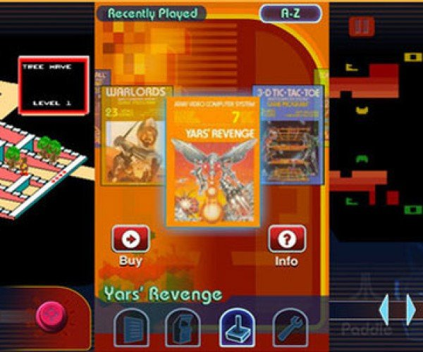 Atari iPhone App Offers 100 Classic Games