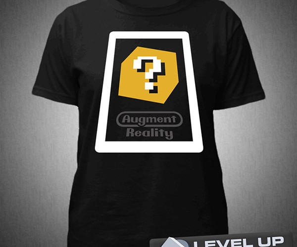 Augment Reality T-Shirt: Wearable 3DS AR Card