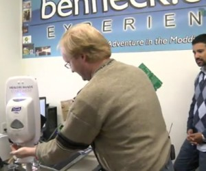 Ben Heck Makes Motion Detecting Hand Sanitizer: No, He Didn't Use a Kinect