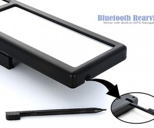 bluetooth rear view mirror with gps 6 300x250