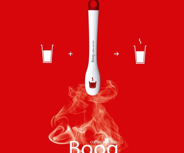 Boog Coffee Warmer Heats Up Your Coffee in a Jiffy