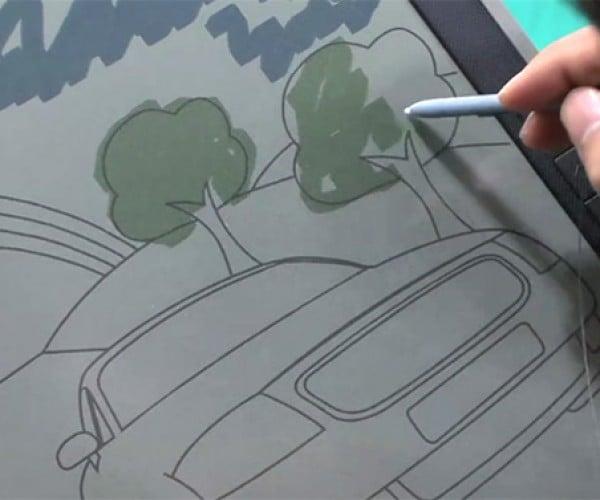 Bridgestone AeroBee Electronic Paper Displays Look Promising