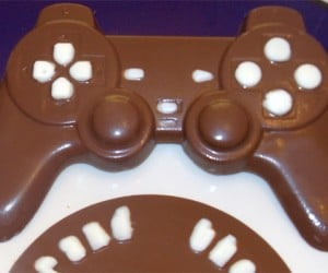 Chocolate Dual-Shock Controller Comes with Grand Theft Chocolate Game Disc