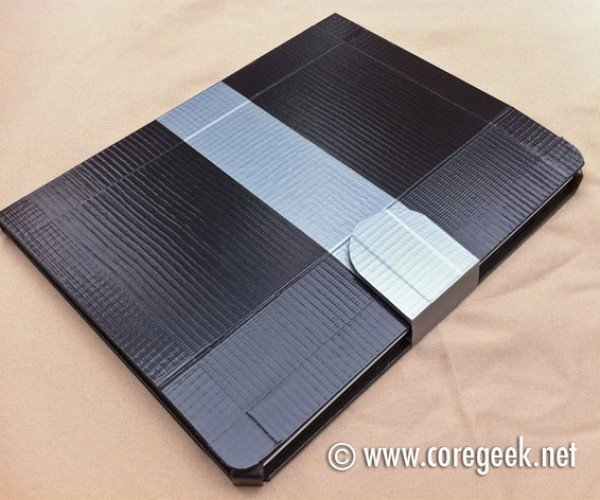 iPad 2 Gets Wrapped in Duct Tape
