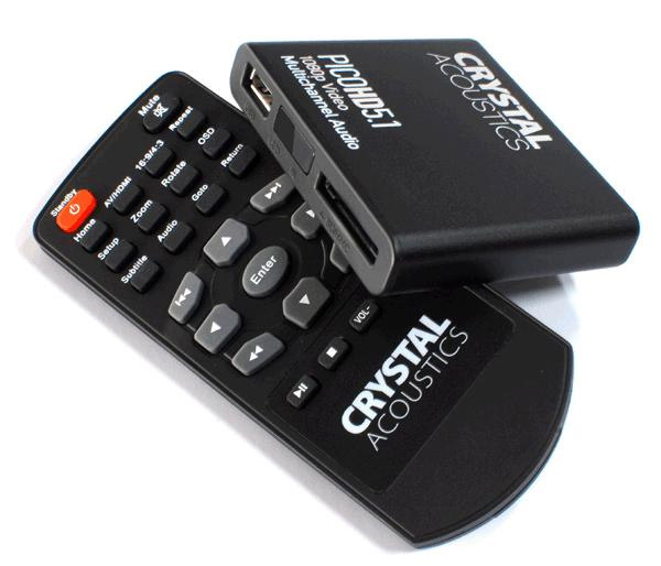 crystal acoustics pico hd5 1 remote