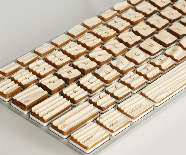 Engrain Tactile Keyboard: Who WOODn't Want One?