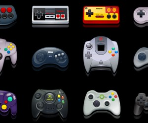 Controller & Handheld Icons to Level Up Your Desktop