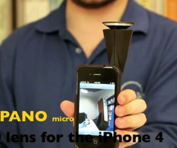 GoPano micro Captures 360-degree iPhone Video